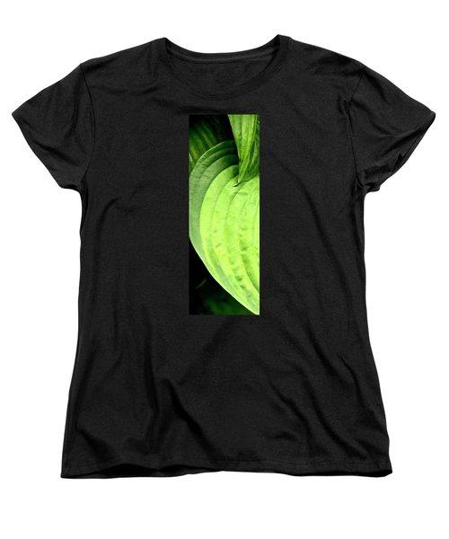 Shades Of Green Women's T-Shirt (Standard Cut) by Jerry Sodorff