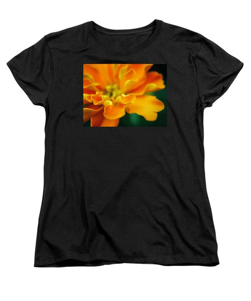 Women's T-Shirt (Standard Cut) featuring the photograph Shades Of Orange by Eduard Moldoveanu
