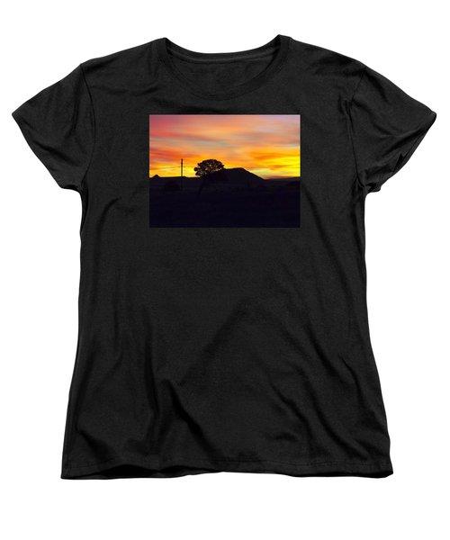 Shadow Tree Women's T-Shirt (Standard Cut) by Adam Cornelison