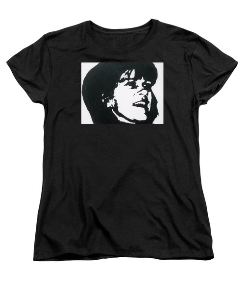 Women's T-Shirt (Standard Cut) featuring the drawing Sharon Stemple by Robert Margetts