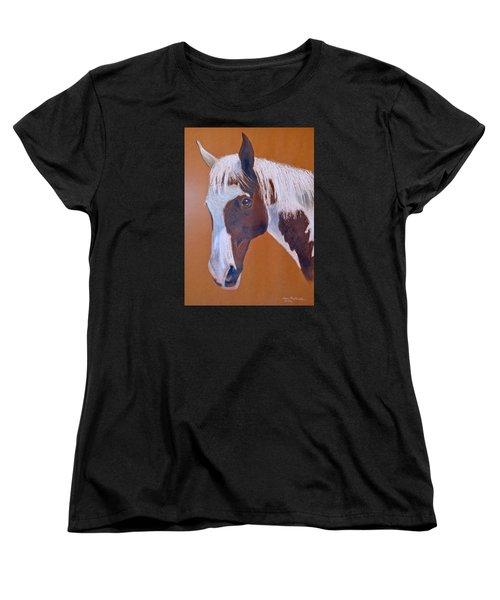 Shawnee Women's T-Shirt (Standard Cut) by Joan Hartenstein