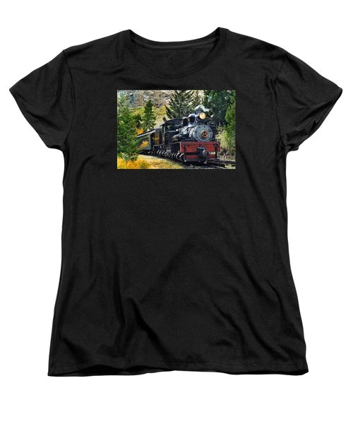 Shay On The Georgetown Loop Women's T-Shirt (Standard Cut) by Ken Smith