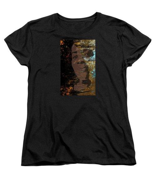She Is Loved Women's T-Shirt (Standard Cut) by Cedric Hampton