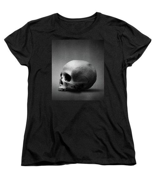 Women's T-Shirt (Standard Cut) featuring the digital art Shell Game II by Joseph Westrupp