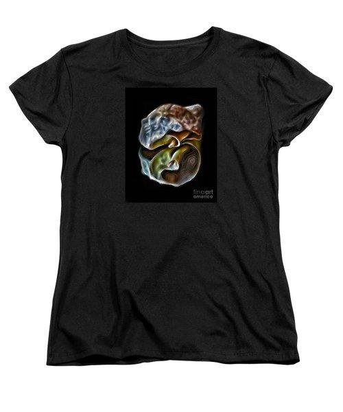 Shell On Mirror Women's T-Shirt (Standard Cut) by Walt Foegelle