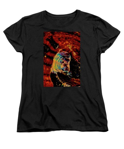 Shell Space Women's T-Shirt (Standard Cut) by Gina O'Brien