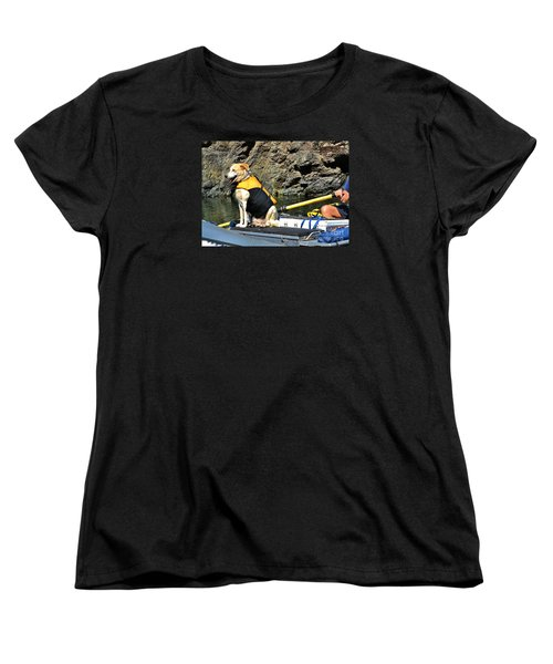 Ship, Captain And Crew Women's T-Shirt (Standard Cut) by Ansel Price