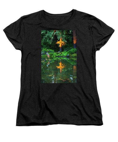 Shore Acres Beauty Women's T-Shirt (Standard Cut) by Dale Stillman