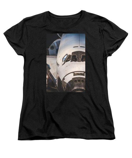 Shuttle Close Up Women's T-Shirt (Standard Cut) by David Collins