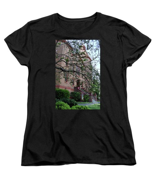 Women's T-Shirt (Standard Cut) featuring the photograph Sidney Park Cme Church by Skip Willits