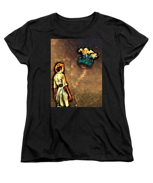 Silence Must Be Heard Women's T-Shirt (Standard Cut) by Vennie Kocsis
