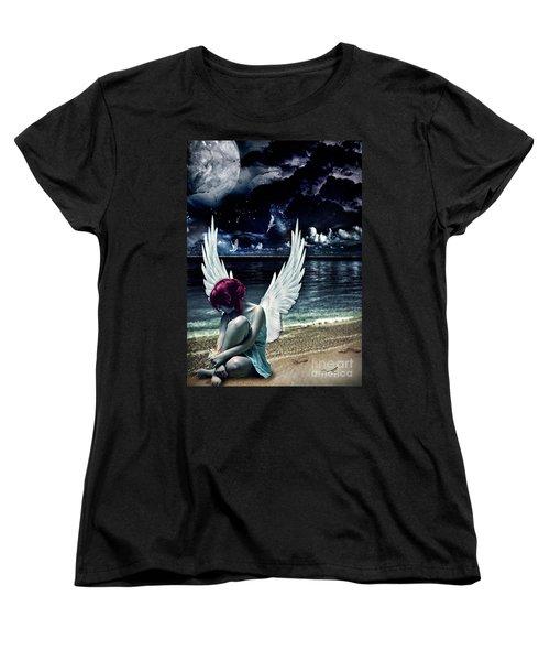 Silence Of An Angel Women's T-Shirt (Standard Cut) by Mo T