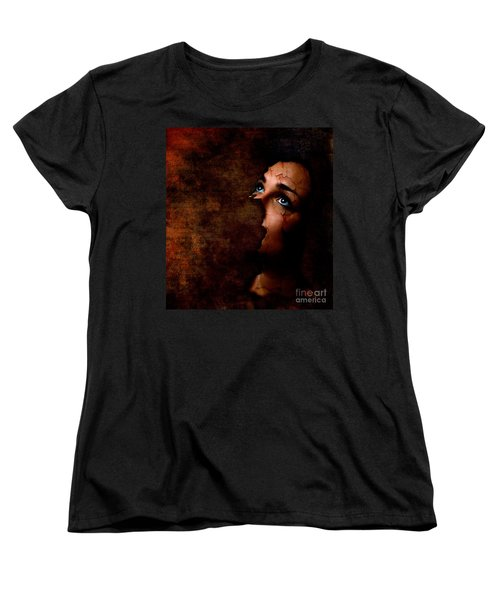 Silenced Women's T-Shirt (Standard Cut) by Jacky Gerritsen