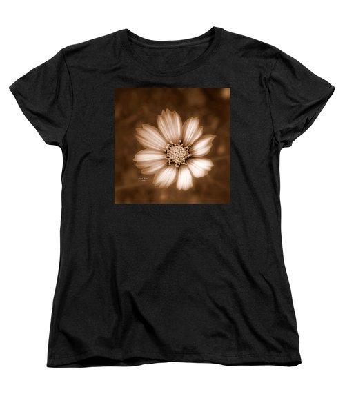Silent Petals Women's T-Shirt (Standard Cut) by Trish Tritz