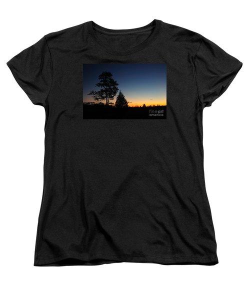 Silhouettes Women's T-Shirt (Standard Cut) by Joe  Ng