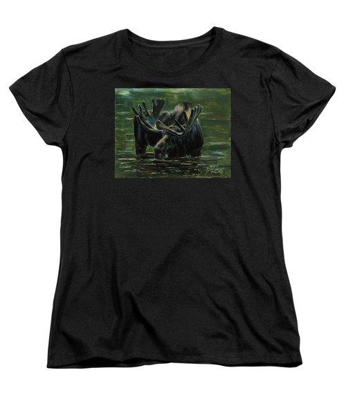 Simple Pleasures Women's T-Shirt (Standard Cut) by Billie Colson