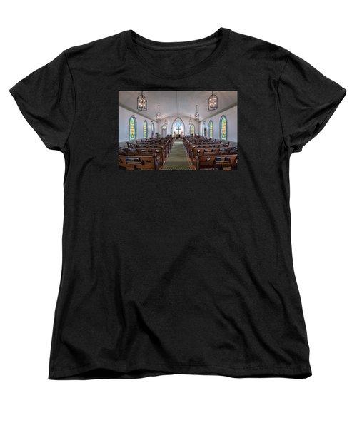 Simple Worship Women's T-Shirt (Standard Cut)