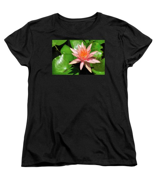 Single Flower Women's T-Shirt (Standard Cut) by Gandz Photography