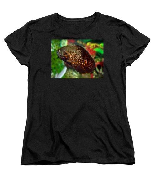 Women's T-Shirt (Standard Cut) featuring the photograph Skeeter by Betty Northcutt