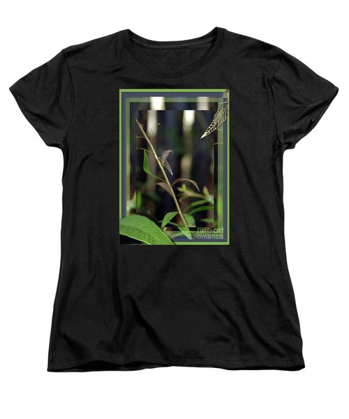 Women's T-Shirt (Standard Cut) featuring the photograph Skeletons And Skin by Vicki Ferrari