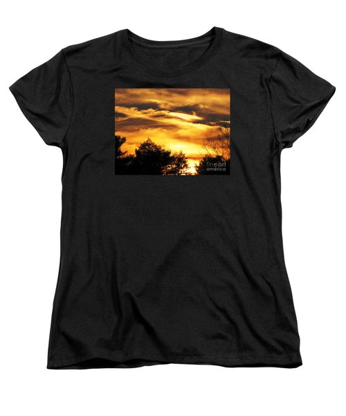 Sky Study 7 3/11/16 Women's T-Shirt (Standard Cut) by Melissa Stoudt