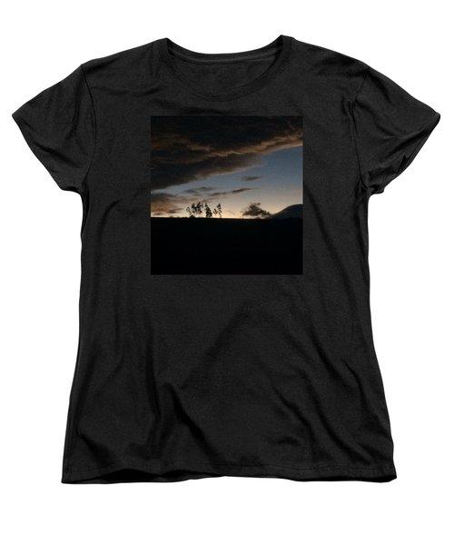 Skyline Women's T-Shirt (Standard Cut) by Eli Ortiz
