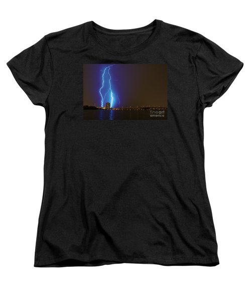 Sky's The Limit Women's T-Shirt (Standard Cut) by Quinn Sedam