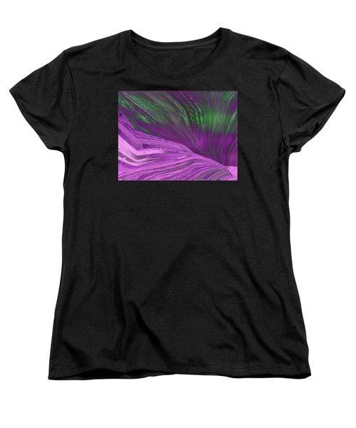 Slippery Slope Women's T-Shirt (Standard Cut) by Tim Allen