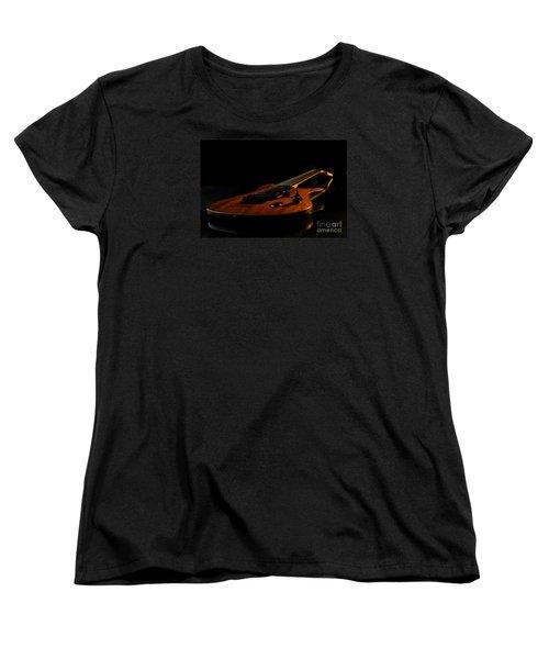Slow-hand-guitar Women's T-Shirt (Standard Cut)
