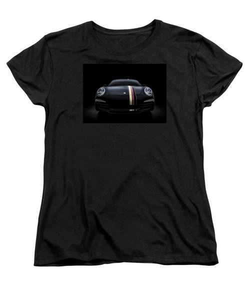 Women's T-Shirt (Standard Cut) featuring the digital art Smoke-stack Lightning by Douglas Pittman