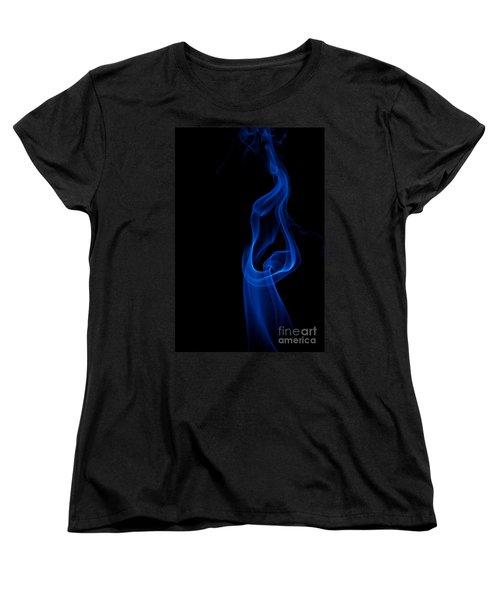 Women's T-Shirt (Standard Cut) featuring the photograph smoke XII by Joerg Lingnau
