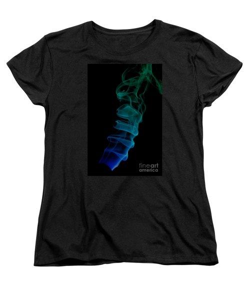 Women's T-Shirt (Standard Cut) featuring the photograph smoke XIX ex by Joerg Lingnau