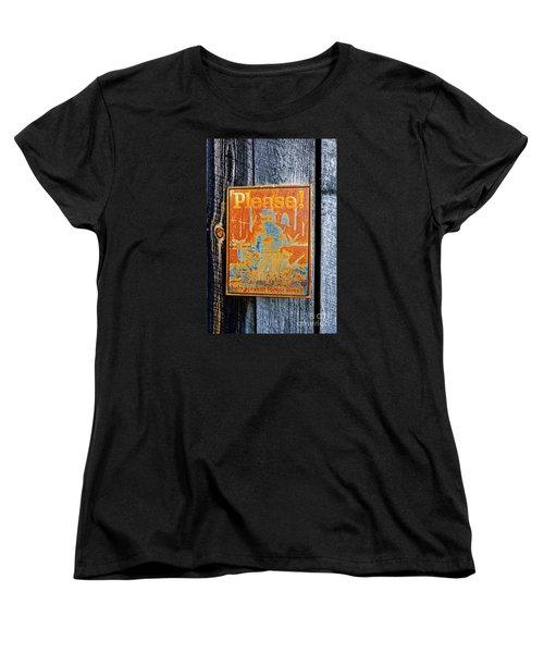 Women's T-Shirt (Standard Cut) featuring the photograph Smokey The Bear by Paul Mashburn