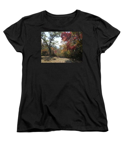 Smokies 12 Women's T-Shirt (Standard Cut) by Val Oconnor