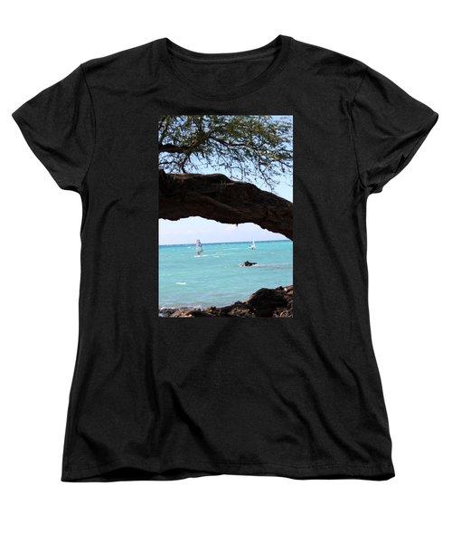 Smooth Sailing Women's T-Shirt (Standard Cut) by Karen Nicholson