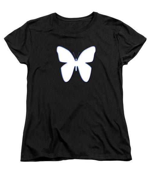 Snow Butterfly Women's T-Shirt (Standard Cut)
