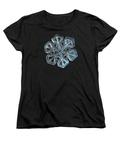 Snowflake Photo - Alcor Women's T-Shirt (Standard Cut)