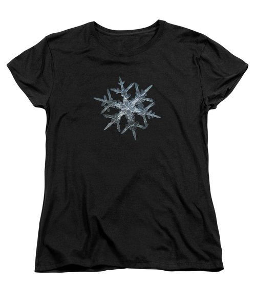 Snowflake Photo - Rigel Women's T-Shirt (Standard Cut)