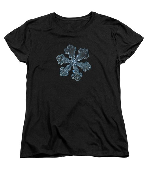 Snowflake Photo - Vega Women's T-Shirt (Standard Cut)
