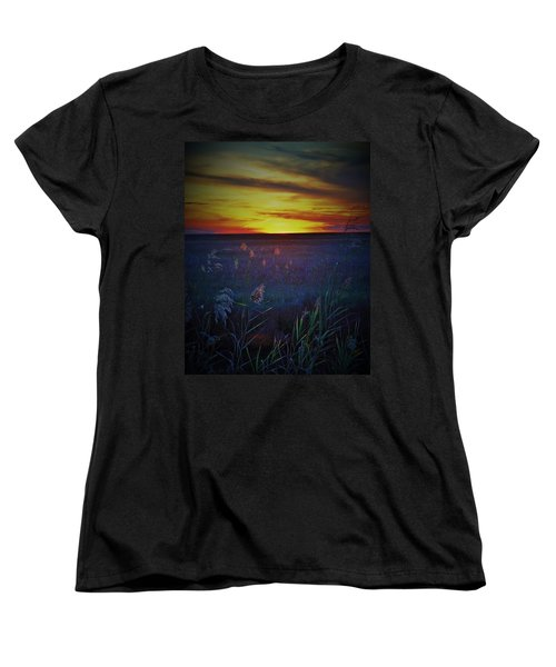 Women's T-Shirt (Standard Cut) featuring the photograph So Many Colors by John Glass
