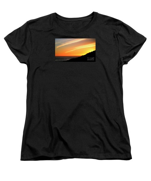 Women's T-Shirt (Standard Cut) featuring the photograph Socal Sunet by Clayton Bruster