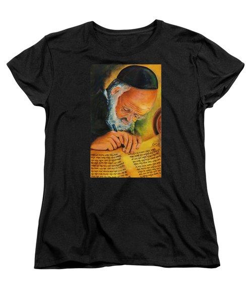 Sofer Stam Women's T-Shirt (Standard Cut) by Itzhak Richter