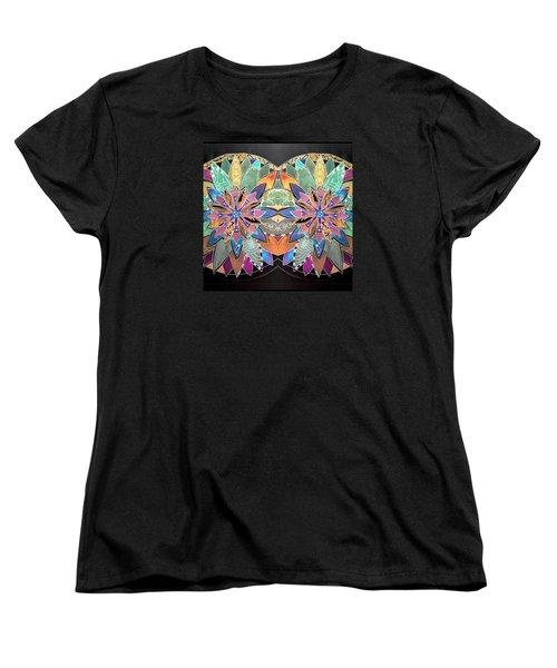 Soft Mandala Women's T-Shirt (Standard Cut) by Sandra Lira