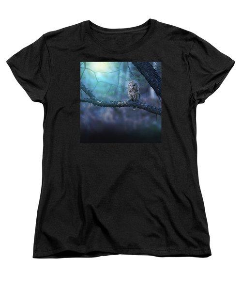 Solitude - Square Women's T-Shirt (Standard Cut) by Rob Blair