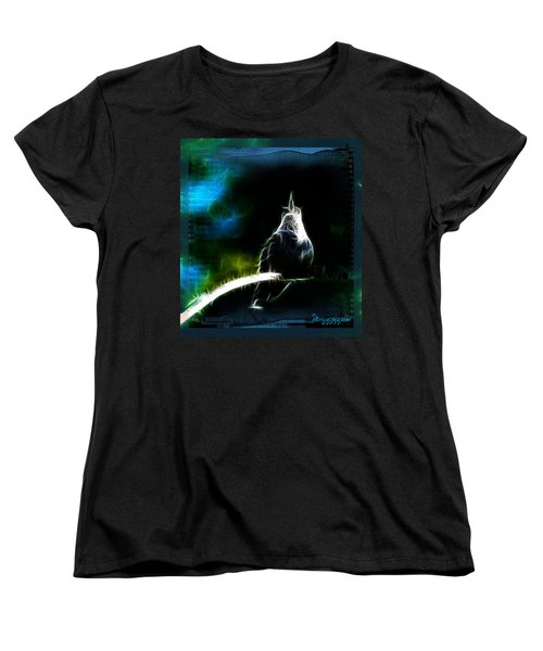 Women's T-Shirt (Standard Cut) featuring the photograph Somewhere Over The Rainbow by EricaMaxine  Price