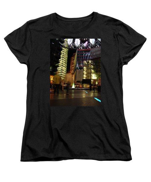 Sony Center Women's T-Shirt (Standard Cut) by Flavia Westerwelle