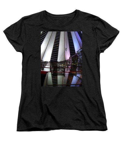 Sony Center II Women's T-Shirt (Standard Cut) by Flavia Westerwelle