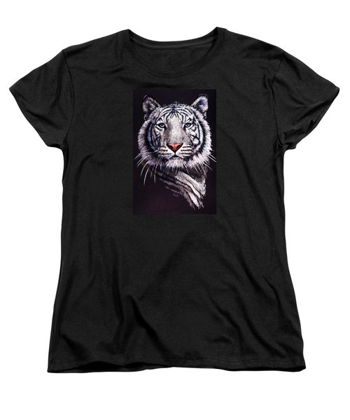 Women's T-Shirt (Standard Cut) featuring the drawing Sorcerer by Barbara Keith