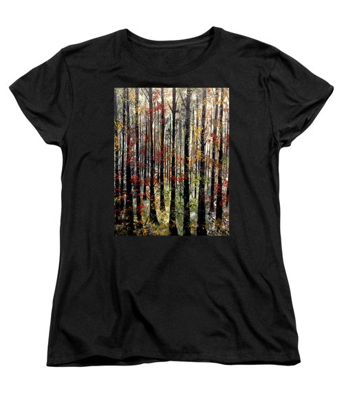 Sounds That Make Me Cry Women's T-Shirt (Standard Cut) by Lisa Aerts