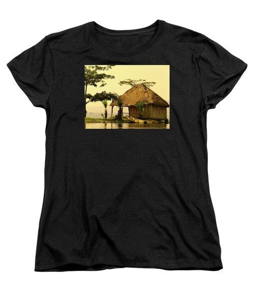 Source Of The Nile Women's T-Shirt (Standard Cut) by Exploramum Exploramum
